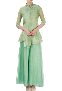 aqua-green-embroidered-palazzo-set