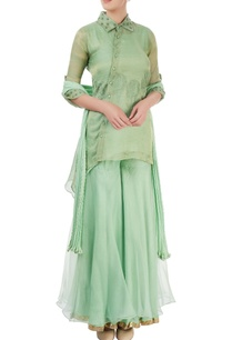 aqua-green-embroidered-sharara-set