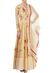 light-gold-hand-painted-anarkali-set-with-sequin-work