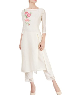 ivory-striped-kurta-with-pants