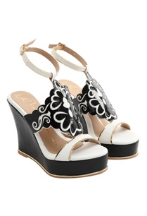 black-white-laser-cut-wedges
