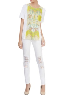white-printed-top-with-patch-pocket