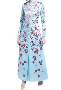 blue-digital-printed-jacket-with-dhoti-pants