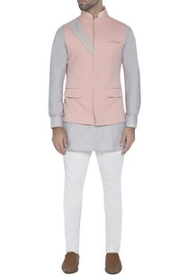 pastel-pink-waistcoat-with-drape-detail