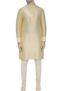 butter-yellow-silk-kurta