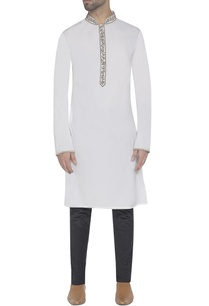 white-kurta-with-embroidered-detail