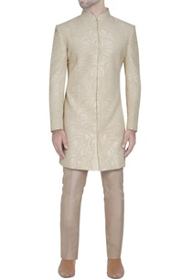 cream-embroidered-silk-sherwani