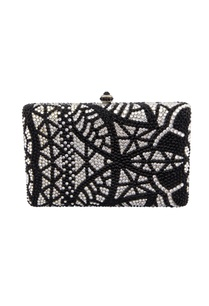 black-white-studded-box-clutch