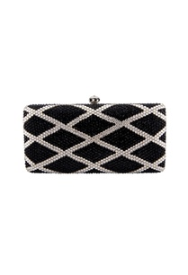 black-white-clutch-with-geometric-pattern