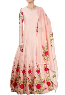 light-pink-embroidered-kurta-set