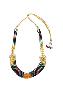 multi-colored-beaded-necklace