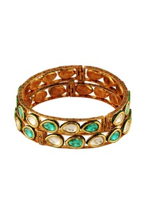 stone-studded-gold-bangle