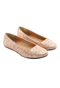 two-tone-woven-pink-flats