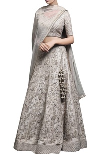 ivory-beige-embroidered-lehenga-set