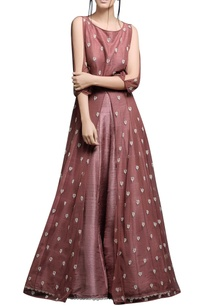 burnt-rose-anarkali-with-lehenga