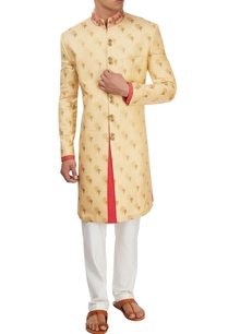 beige-kasab-embroidered-sherwani