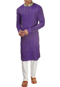 purple-embroidered-kurta-set