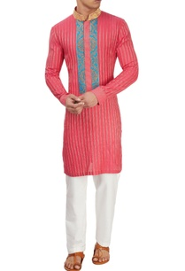 pink-embroidered-kurta-set