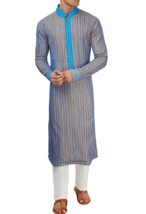blue-thread-work-kurta-set