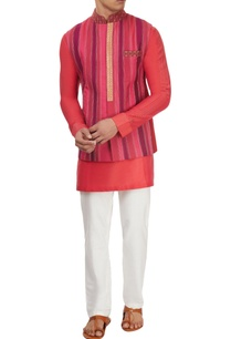 pink-purple-patched-kurta-set