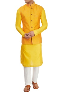 yellow-kurta-set-with-jacket