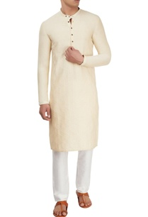 cream-kurta-with-motif-details