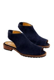navy-blue-peep-toe-flats