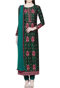emerald-green-kurta-set