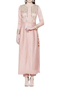 pink-jacket-kurta-with-trousers