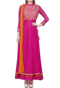 pink-anarkali-set-with-embroidery