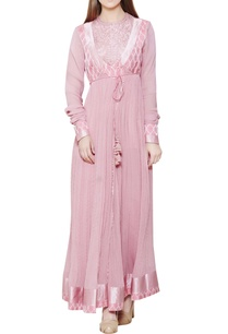 powder-pink-anarkali-set