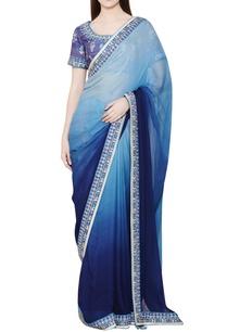blue-ombre-zardozi-sari