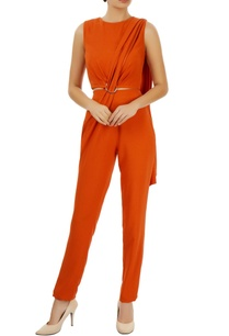 orange-jumpsuit-with-drape