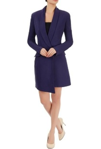 navy-blue-blazer-dress