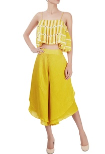 canary-yellow-crop-top-culottes