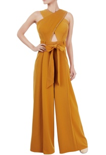 ochre-yellow-criss-cross-jumpsuit