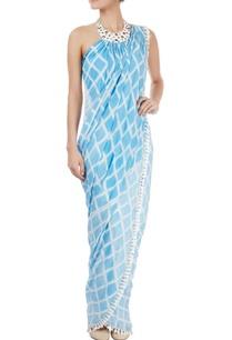 light-blue-white-maxi-sari