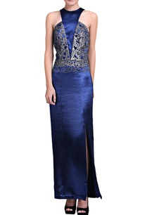 blue-gown-with-sequins