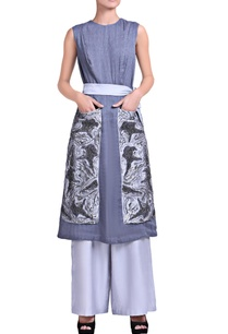 bluish-grey-kurta-set-with-sequins-embroidery