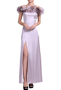 light-lilac-gown-with-shaded-ruffle