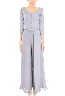 lilac-grey-gown-with-pants