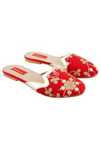 red-embroidered-slip-on-flats