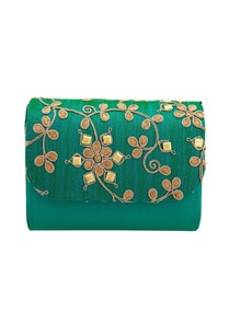 turquoise-clutch-with-dori-work
