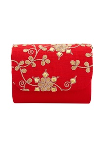 red-clutch-with-dori-work