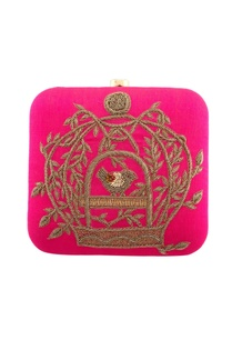 pink-embroidered-clutch