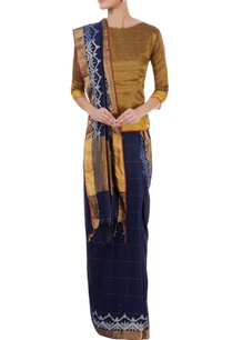 navy-blue-sari-with-shaded-border-details