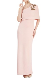 blush-pink-gown-with-bird-motif