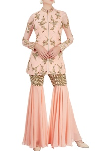 peach-sharara-set-with-sequined-embroidery