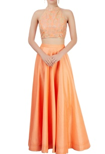 orange-lehenga-set-with-embellishments
