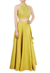 olive-green-lehenga-set-with-embellishments